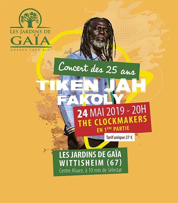 Concert 25 ans Jardins de Gaïa
